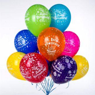воздушные шарики в ассортименте